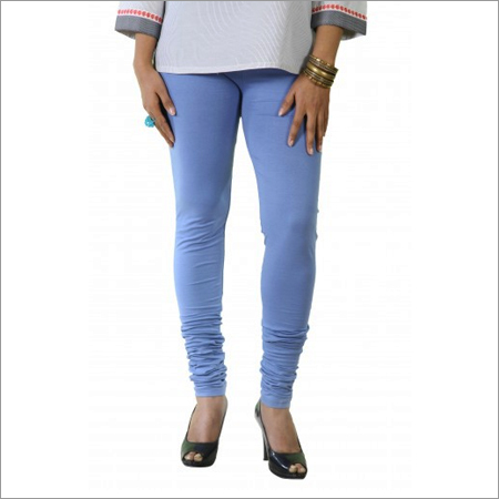 Blue Hosiery Churidar