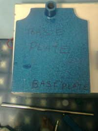 1 Base plate