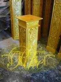 wedding mandap pillar