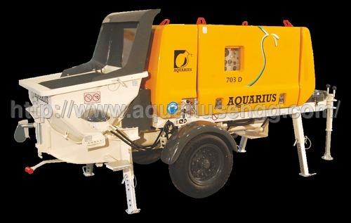 truck mounted concrete line pump