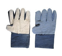 Cotton Jeans With Blanket Hand Gloves