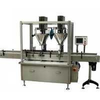 Auto Double Head Powder Filling Machine