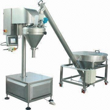 Semi Auto Powder Auger Filler