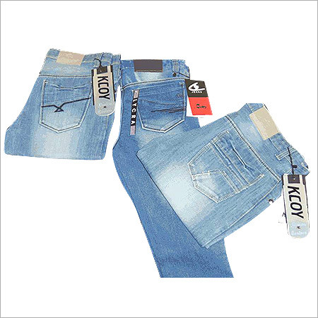 Designer Cotton Lycra Denim Jeans