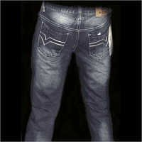 Stone Washed Denim Jeans