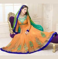 Party Wear Unstitched Salwar Kameez