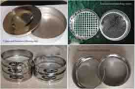 Sieves Set (Pharmacopeial Standard)