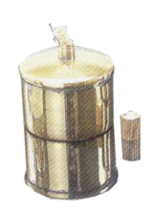 ALCOHOL BURNER, BRASS