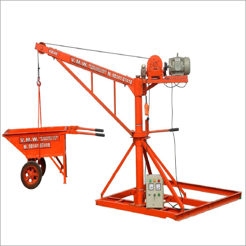 Building Material Lifting Systems