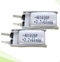 3.7v, Ultra Thin Li-Polymer Battery