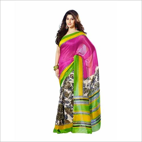 Baluchari Silk Printed Sarees