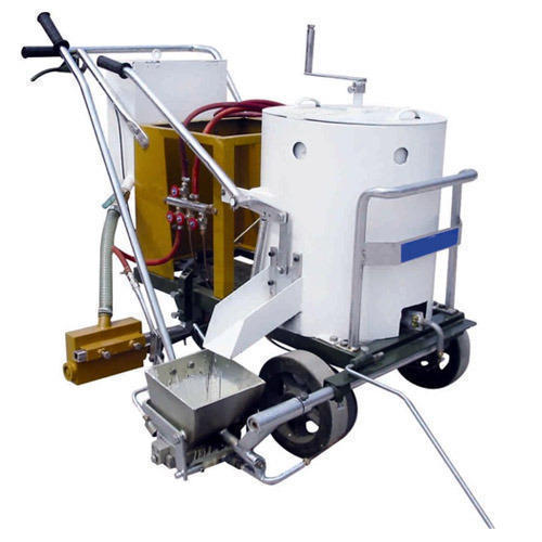 White Striping Road Marking Machine