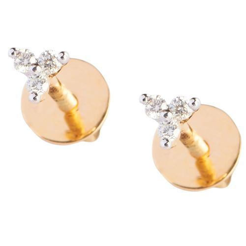 3 Diamond Earring