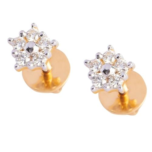 Shining Star Diamond Earring