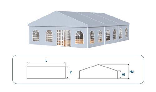 Wide Span Aluminium Hanger