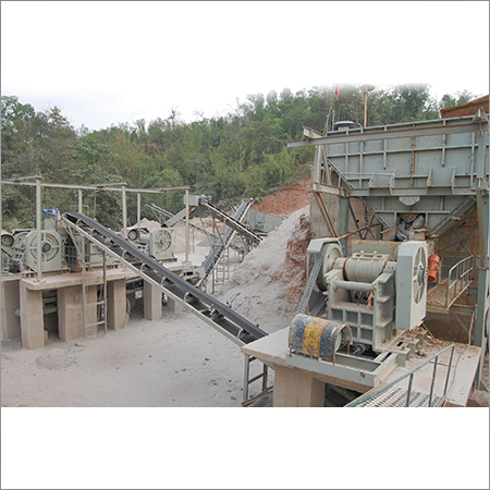 Stationary Crushing Plants