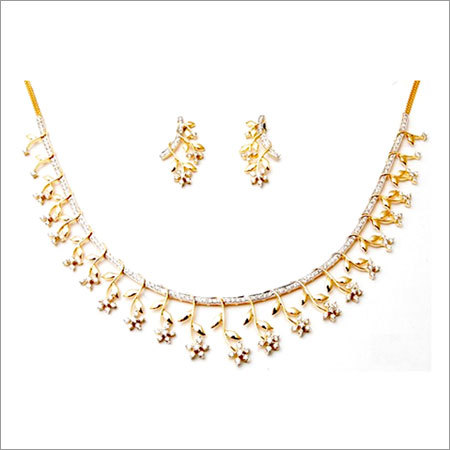 2015 Gold Diamond Jewelry Necklace