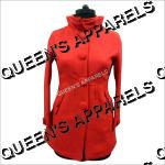 Ladies High Neck Coats
