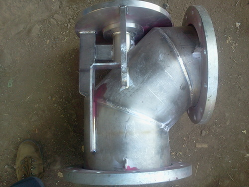 Fabricated Titanium Pump