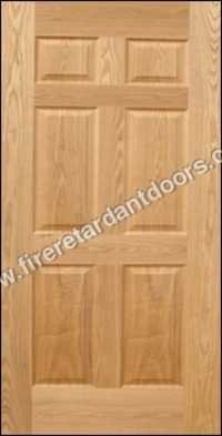 6 Panel Moulded Veneer Door