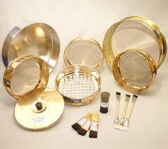 TEST SIEVES BRASS FRAME SS MESH