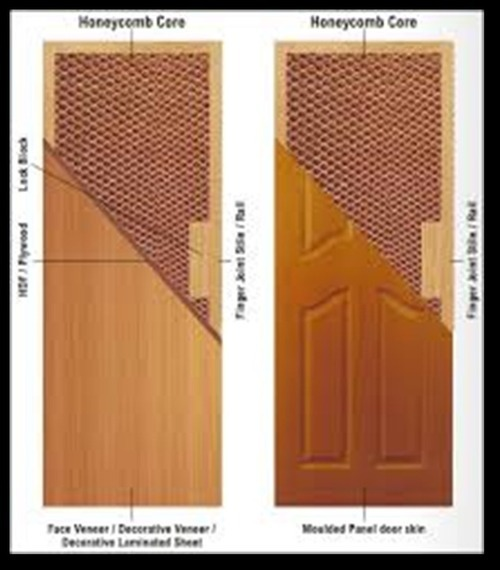 HONEY COMB DOOR
