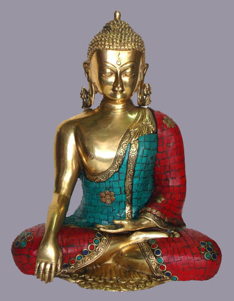 Buddha Sitting W/ Out Base Stone Work