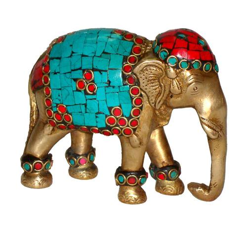 Elephant Trunk Down W/ Stone Work