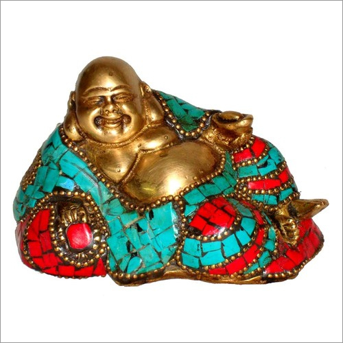 Lying Laughing Buddha