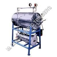 HORIZONTAL HIGH PRESSURE CYLINDRICAL STEAM STERILIZER