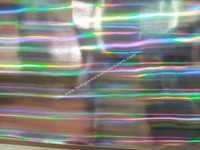 Rainbow Tubelight Holographic Films