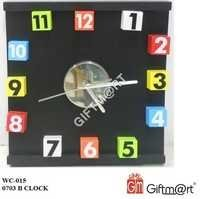 Black Magnetic Wall Clock