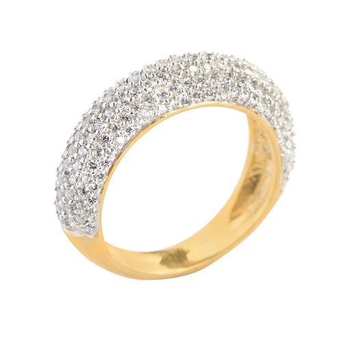 Unique Cluster Diamond Ring