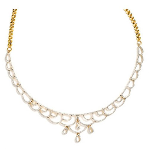 Elegant Diamond Necklace