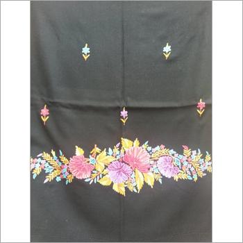 Fancy Woolen Embroidery Shawl
