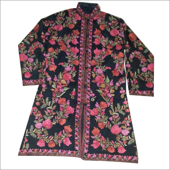 Woolen Embroidery Ladies Jacket