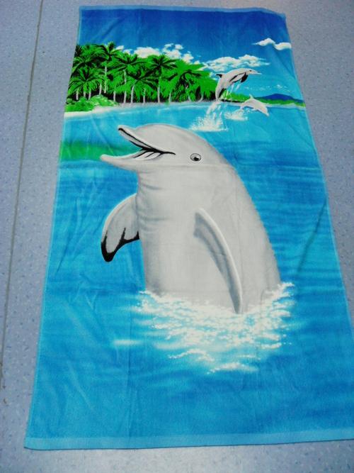 super mario beach towel