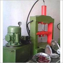 Low Cost Hydraulic Double Die Dron & Dish Making Machine