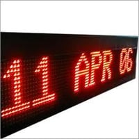 LED Scrolling Message Sign Board
