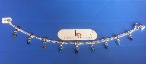 silver anklets price