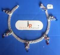silver payal jewellery