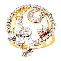 Indian gold diamond ring supplier