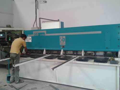Sheet Cutting Shearing Machine Job Work