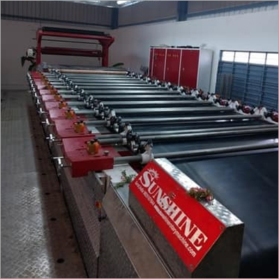 Semi Automatic Rotary Screen Printing Machine
