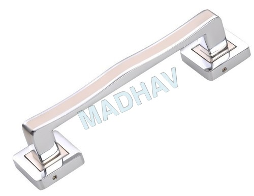 N White Metal Fancy Door Handles