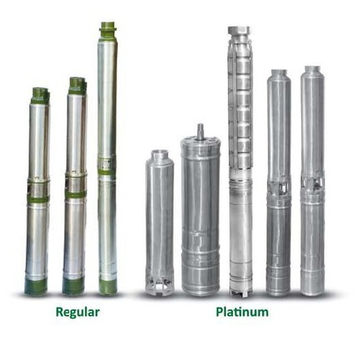 V4 Borewell Submersible Pumps (Oil Filled)