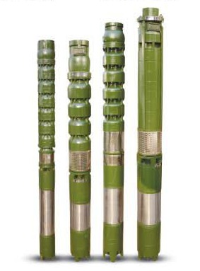V7 Water filled Borewell Submersible Pump Set