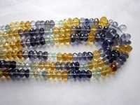 multi faceted beads