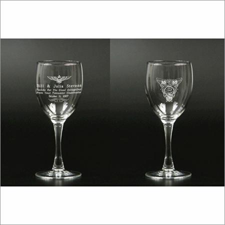 Laser Engraved Glass