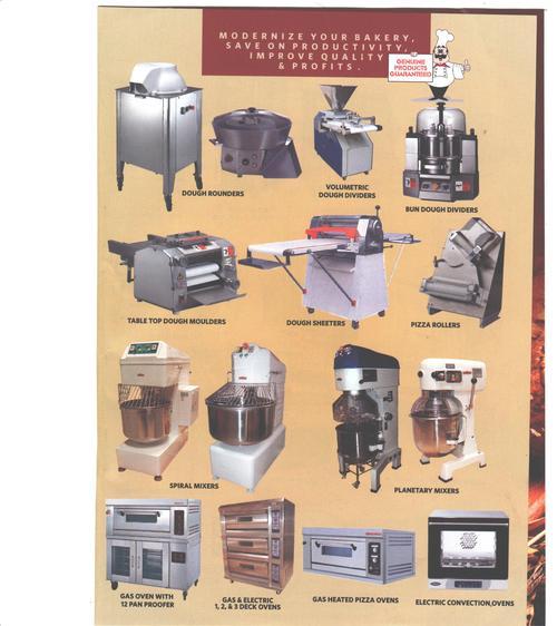 Baghwani Bakery Machines